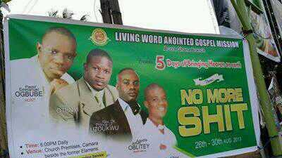 Living Word Anointed Mission presents : No More Shit 😂😂😂 http://t.co/aO2poEU50x
