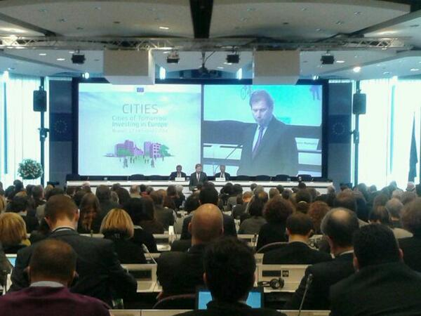 #EUcities @JHahnEU says we were a Europe of cities before we were a europe of nation-states /SP http://t.co/FSk4eHfl8E