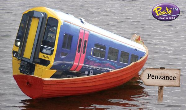 It's OK. They've come up with a solution for the #trains in #cornwall http://t.co/X2WRbfy4aG
