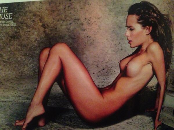 Tanya van graan nackt