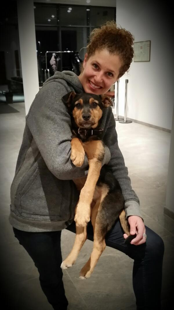 So Olympian Lindsey Jacobellis Adopted A Stray Dog From Sochi, And It Couldn't Be Any Cuter