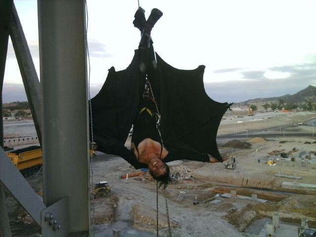 Twitter / helensister: Breaking: bats stop work at ...