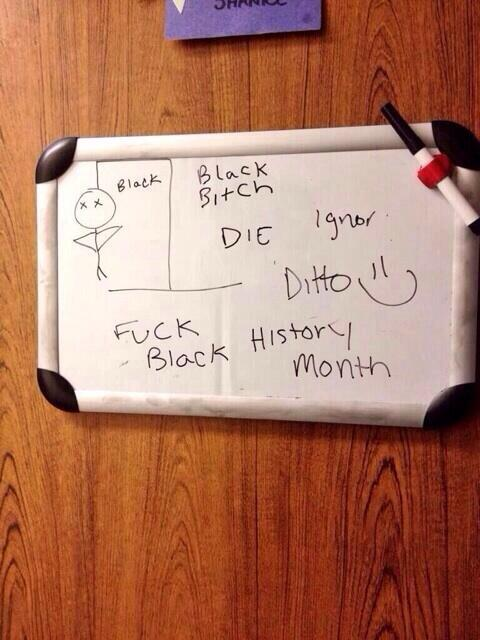 Whiteboard Incident Found To Be Hoax (UPDATED)