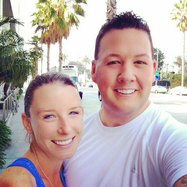 Graham Elliot with beautiful, Wife Allie
