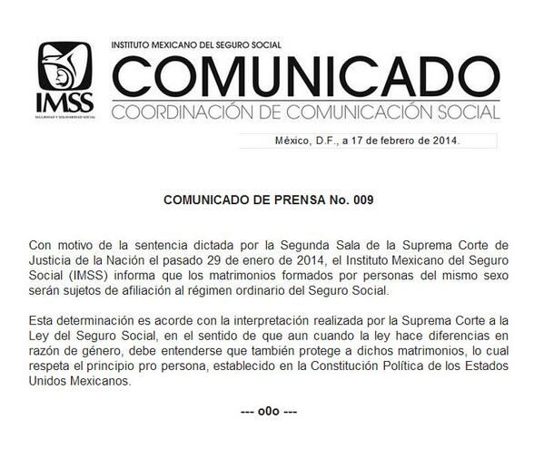 #Comunicado COMUNICADO DE PRENSA No. 009 http://t.co/5g2UFdrV45