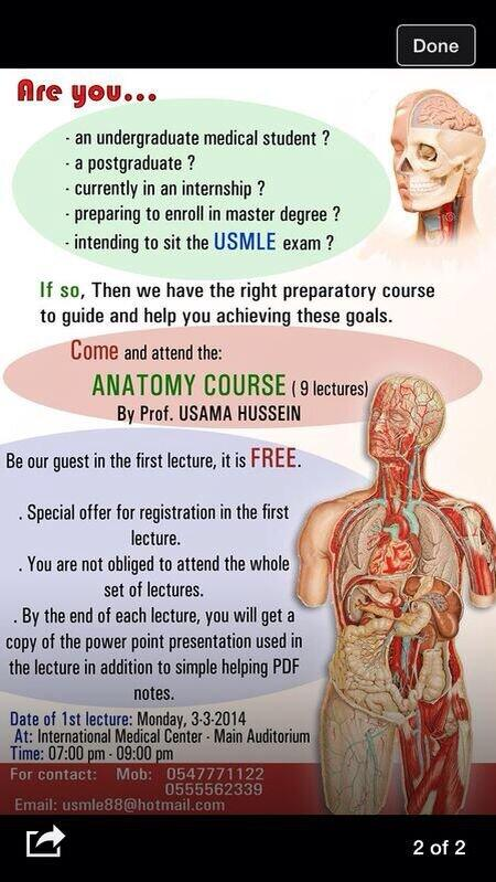 Manar Ibrahem On Twitter Usmle Courseart By Anatomy Course