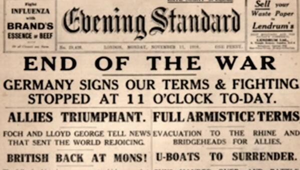 Image result for world war 1 armistice