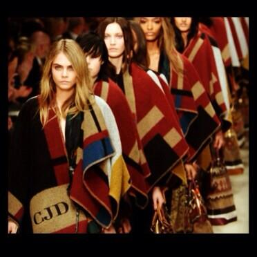 Feeling urgent need for a monogrammed blanket coat! @Burberry http://t.co/9CpTAqYTtn