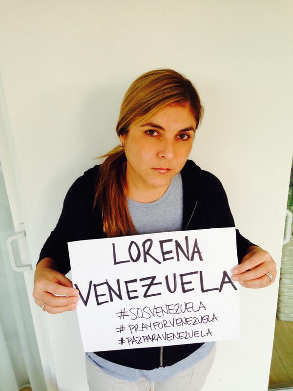 I AM YOUR VOICE VENEZUELA SOY TU VOZ VENEZUELA #prayforVenezuela #pazparaVenezuela #SOSVenezuela http://t.co/RfNl6VApgf
