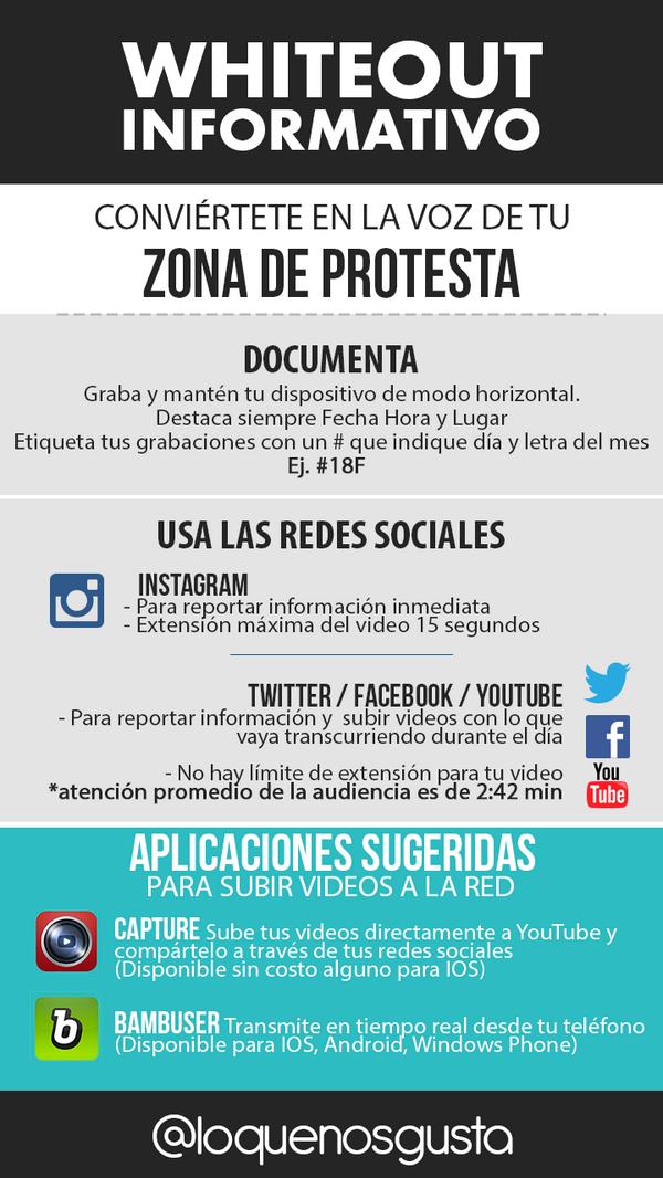Una imagen vale más que mil palabras, y más si permiten reconstruir acontecimientos. ¡Graba! #YoSoyTuVozVenezuela http://t.co/chBA59r8tq