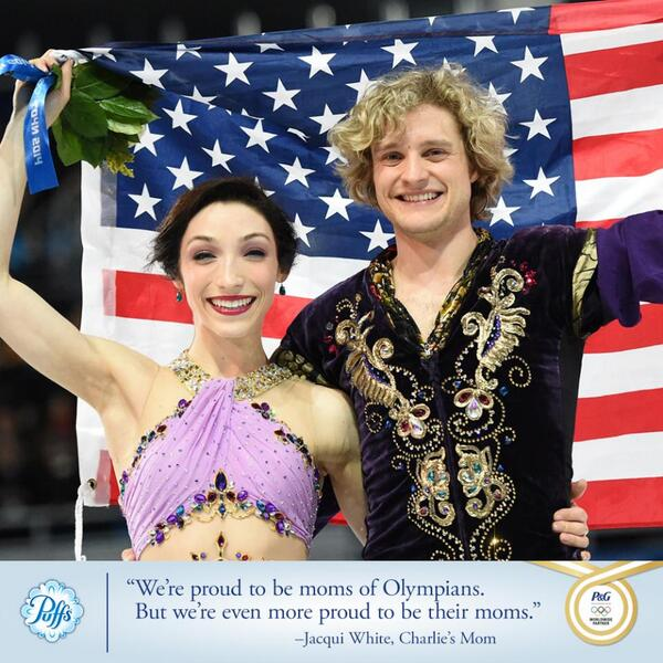 Congratulations to U.S. ice dancers @Meryl_Davis & @CharlieaWhite on their spectacular GOLD medal performance! http://t.co/8lb3pEzrPR
