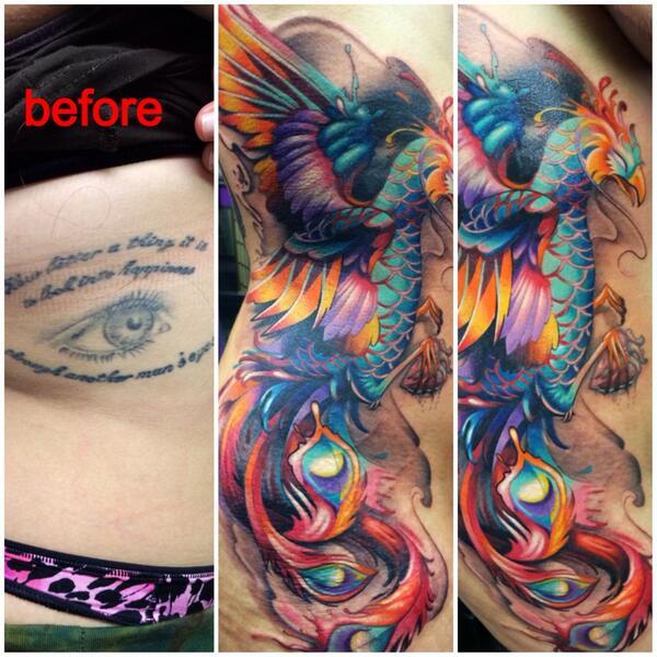 Joe matisa on twitter phoenix cover up for Tattoo artist phoenix az