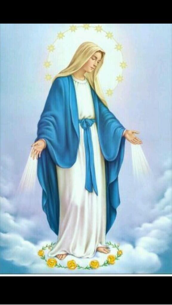 Maria llena eres de gracia, bendita eres entre todas las mujeres y bendito es el fruto de tu vientre, Jesús Paz Vzla http://t.co/ijl7pOD0vt