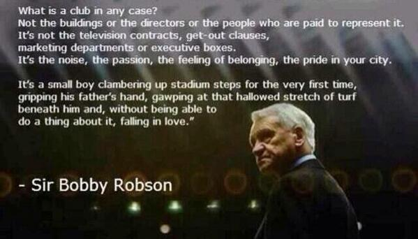 football quotes on happy birthday sir bobby robson the