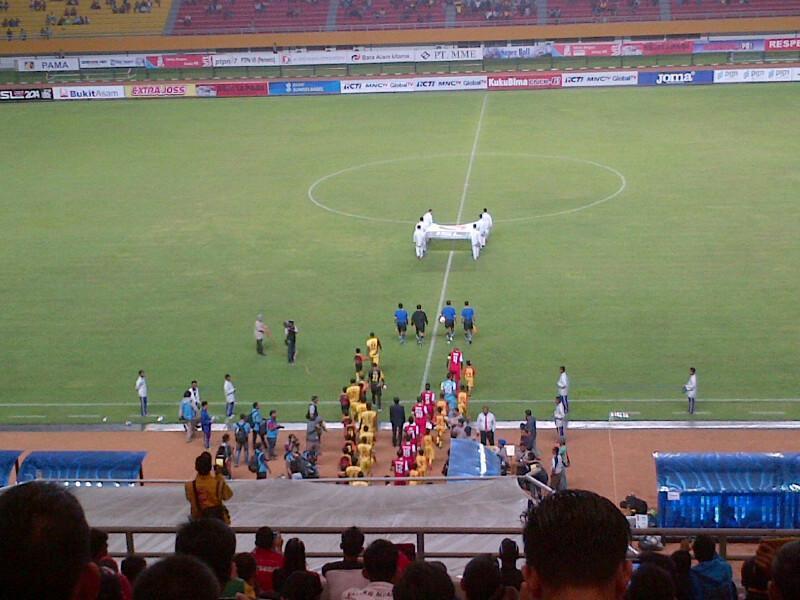 Hasil ISL 2014 Sriwijaya FC vs Persijap Jepara