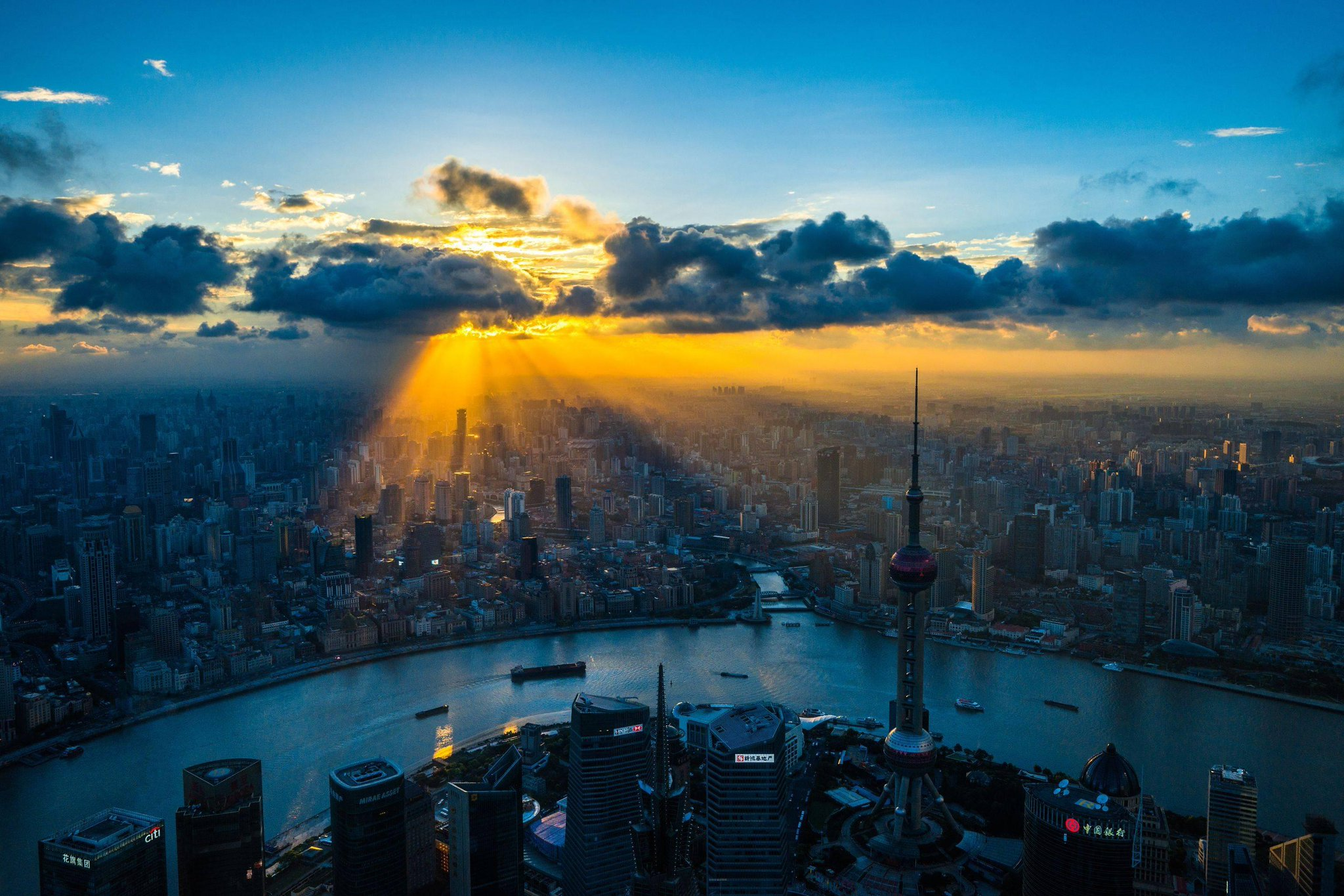 Twitter / Colorcoat: Shanghai under the new dawn ...