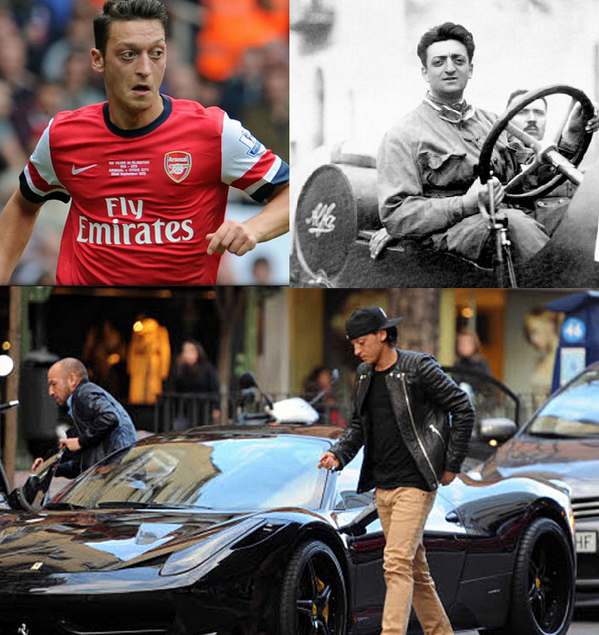 Ed Matts On Twitter Is Mesut Ozil Another Enzo Ferrari Born 116