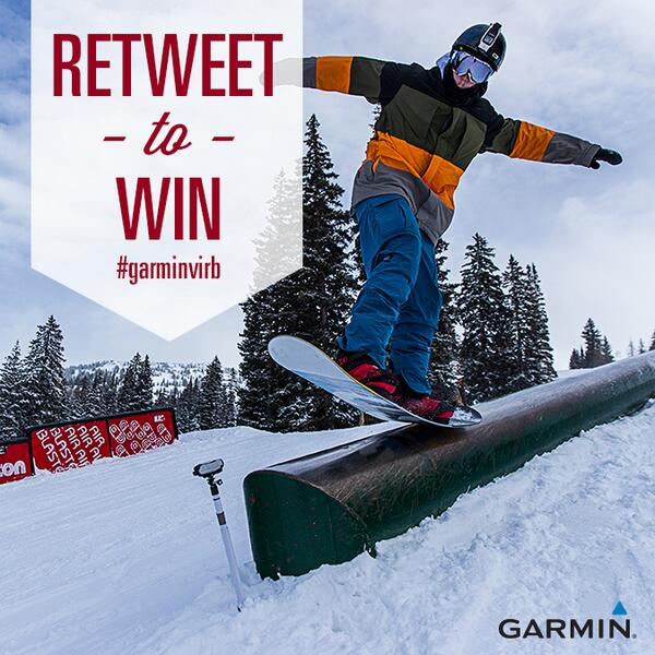 WIN a #GarminVIRB prize pack! For a chance to win the VIRB prize pack FOLLOW our page and RETWEET this post to enter. http://t.co/YcQWC8bRby