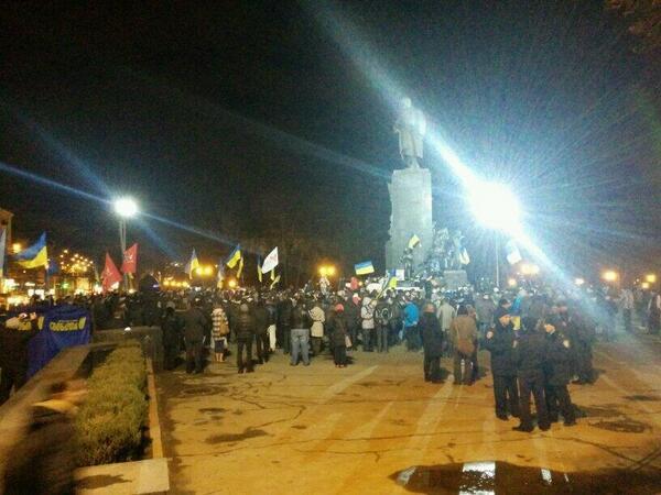 В Харькове собираются на Евромайдан