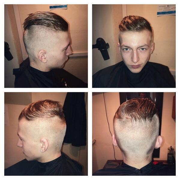 Eddiesplace On Twitter Free Haircut No Fade Blunt Side Cut