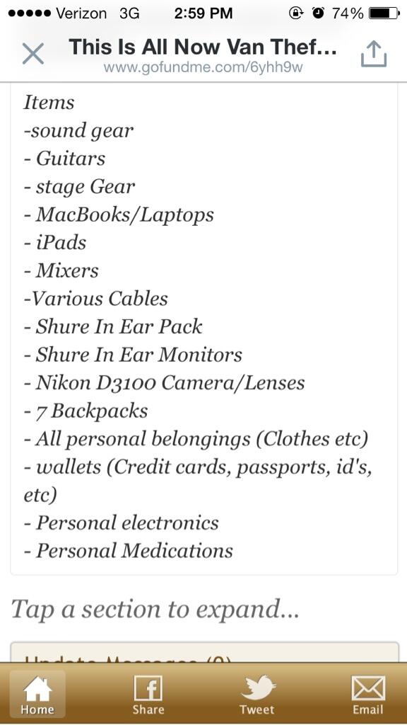 Seriously guys help @ThisIsAllNowNY! Any amount will help! They lost all this stuff!  http://t.co/3AUlt9MfU8 http://t.co/xQtI6vaUuk