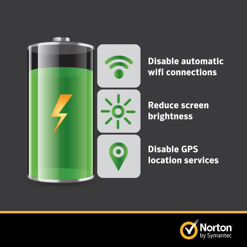 Twitter / NortonOnline: Save your #mobile battery life ...