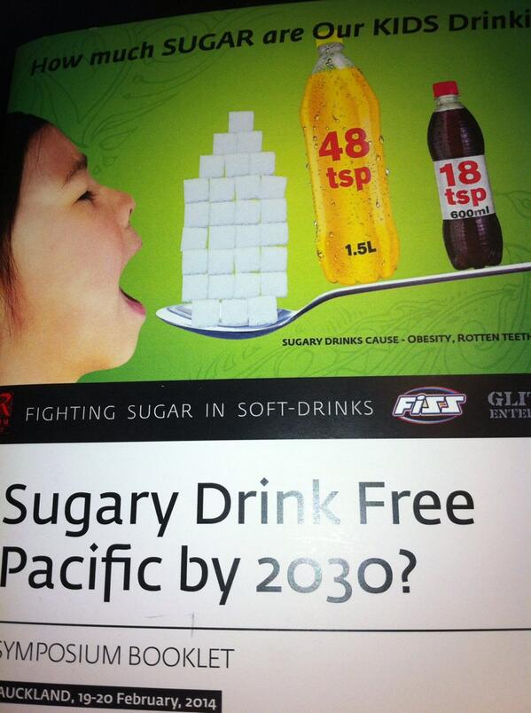 Fighting the sugar in soft drinks NZ conference RT @GravidaNZ: #fizz conference today with hugely esteemed speakers.  http://t.co/zZrRtPaT1x
