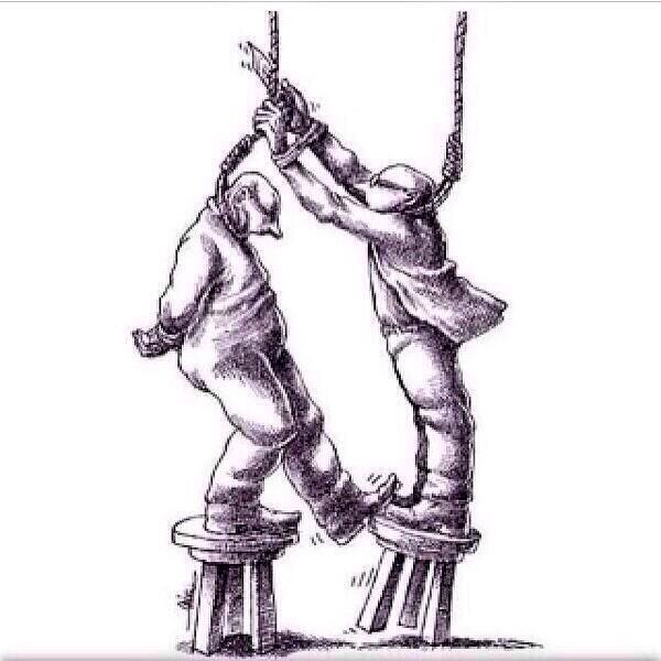 """The strongest picture I've seen in years. """"Be careful who you help"""""""