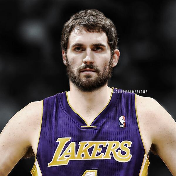 "Basketball Forever on Twitter: ""Kevin Love in a Lakers ..."
