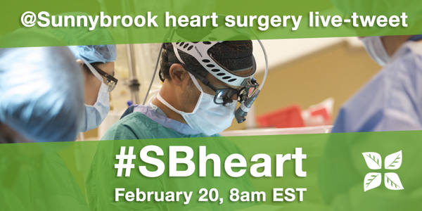 We're marking #HeartMonth with a heart surgery live-tweet on Feb 20. Learn more: http://t.co/hYhZvSI9Ul #SBheart http://t.co/lVI3XHK2eg