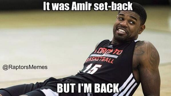 Amir Injury Free #RTZ http://t.co/BMfSTf2yjW