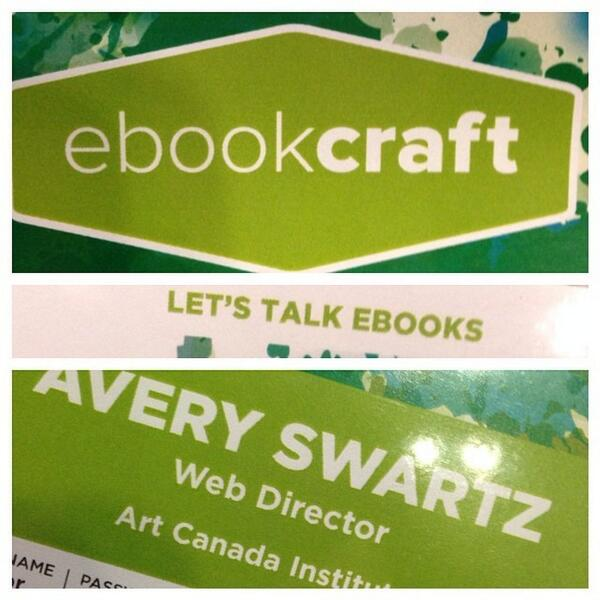 At #ebookcraft today for the @artcaninstitute. #letstalkebooks #tw http://t.co/NqYFut1H9h