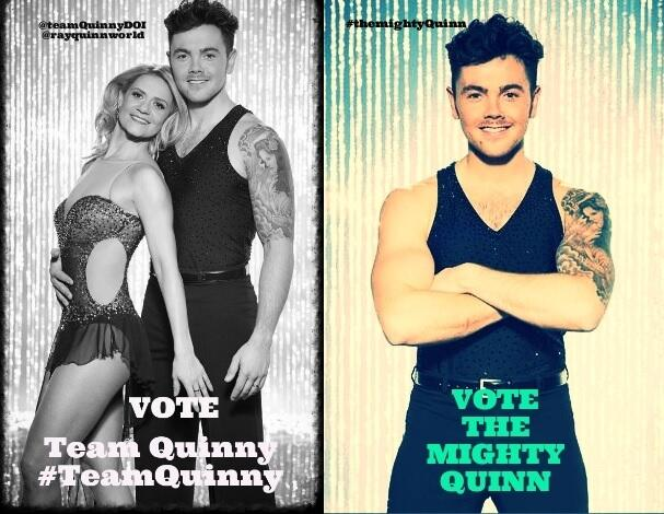 RT @Rayquinnworld: @NolanColeen Hi Coleen Please could we have an RT,reminding fans to Vote for  @therealRayQuinn in DOI Thank-you http://t…