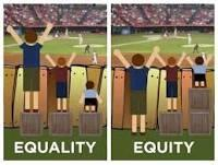 RT @Dave_Saltmarsh: .@EdTechSandyK terrific pic showing equality vs equity #SXSWedu http://t.co/RcM3ryXRJm #byodequity