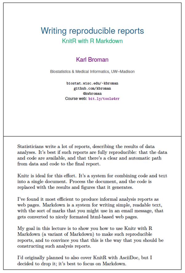Karl Broman on Twitter: