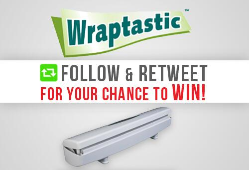 #GIVEAWAY! Follow & RT for your chance to win #Wraptastic - the #AsSeenOnTV smart dispenser! http://t.co/sxyoePn5kc http://t.co/tR7OQSF5nD