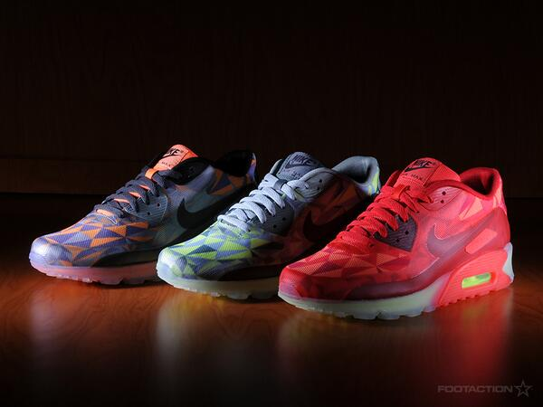"""detailed look a1c9b 9b79f """" Footaction  Now available in stores. The  Nike Air Max 90"""