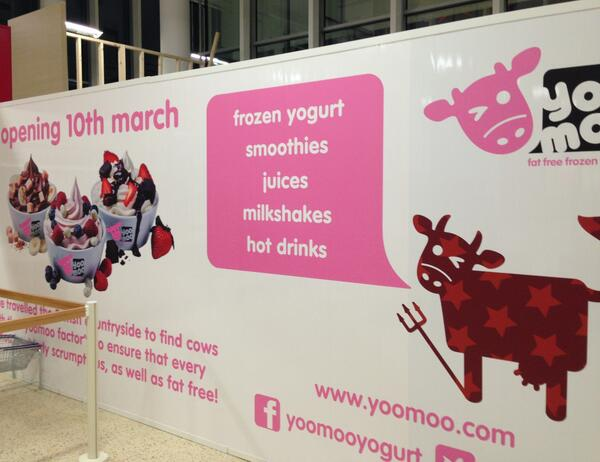 Woolwich get ready….builders are hard at work on our new site. Opens 10th March #TescoExtra #soexcited #frozenyogurt http://t.co/DOl1ZNkDhh