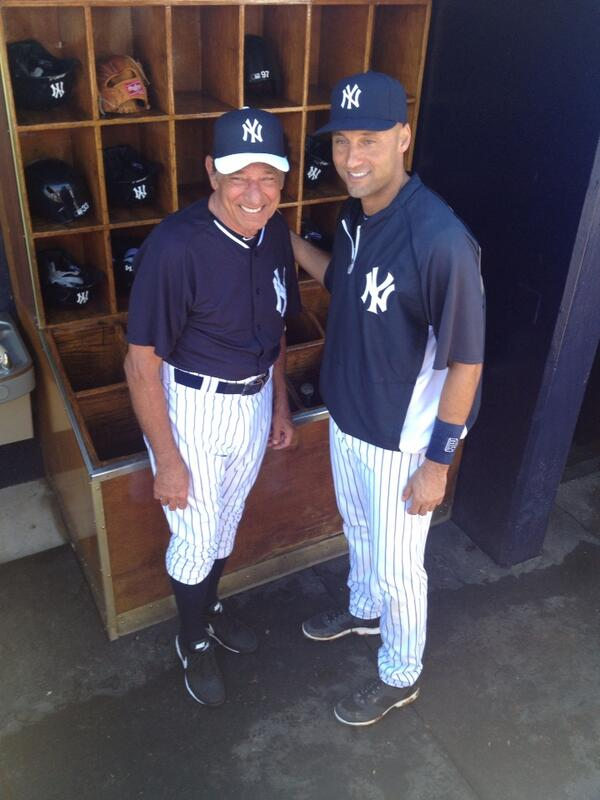 Joe Namath and Derek Jeter http://t.co/okOdz7rCfc