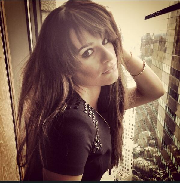 #Louder is #1 and we are celebrating w/ some rockstar hair on @msleamichele!! http://t.co/Bybg8KeHT2
