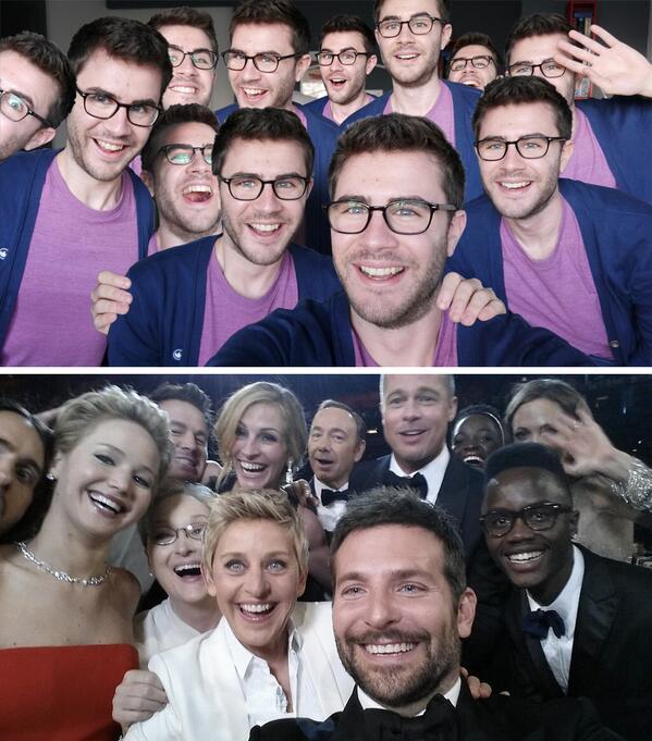 Moi aussi je tente le selfie avec un record de RT. http://t.co/YnI4ywk1Bd