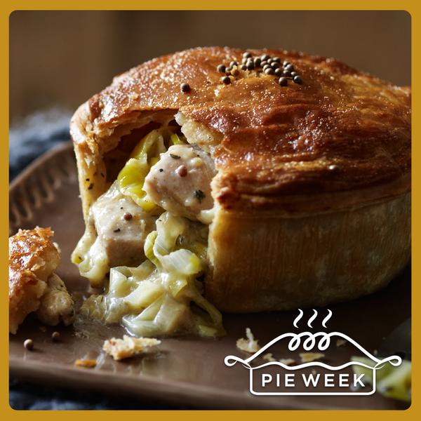 "M&S on Twitter: ""You've gotta love a pie... A chicken ..."