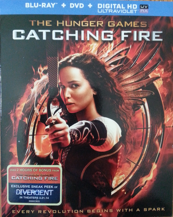 Who wants to win this #CatchingFire Blu-ray & DVD? All you have to do is tweet the following... http://t.co/2rqDR5pKho