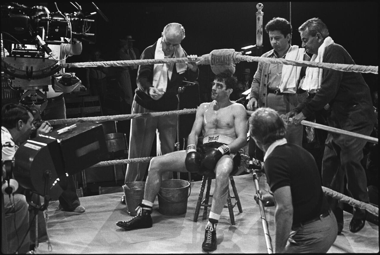 Twitter / FilmHistoryPics: Raging Bull was edited in ...