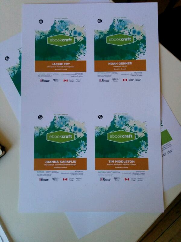 Getting ready. #ebookcraft #techforum @BookNet_Canada http://t.co/fhvqCFU1WL