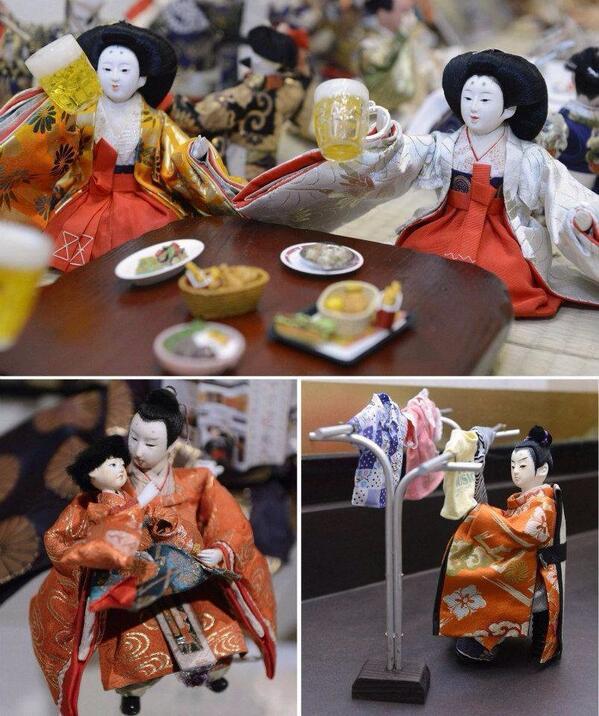 こういうノリは好きだ。facebook.com/photo.php?fbid… 大人の雛祭り pic.twitter.com/LnrTo0COT0