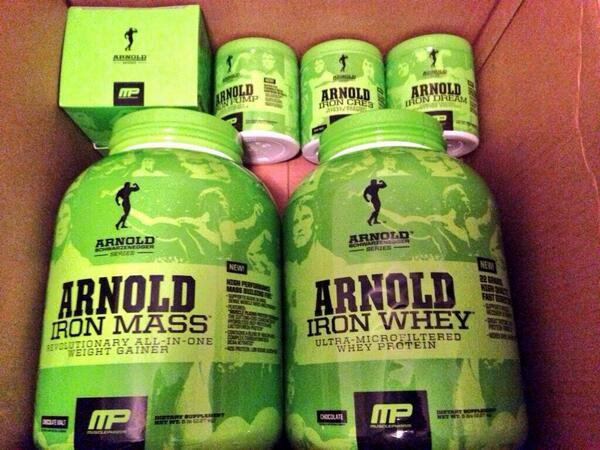Win an #ArnoldSeries product of YOUR CHOICE! 1 Winner picked tonight!  RT 2 ENTER! http://t.co/ZFTeMsEHf7