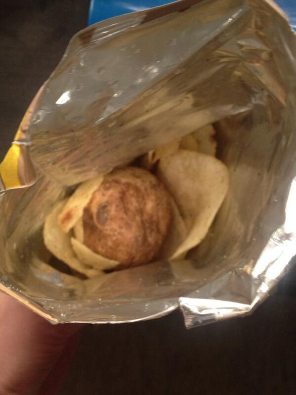 Open a bag of chips and find a potato. A whole potato. http://t.co/WQRpOZlhqk