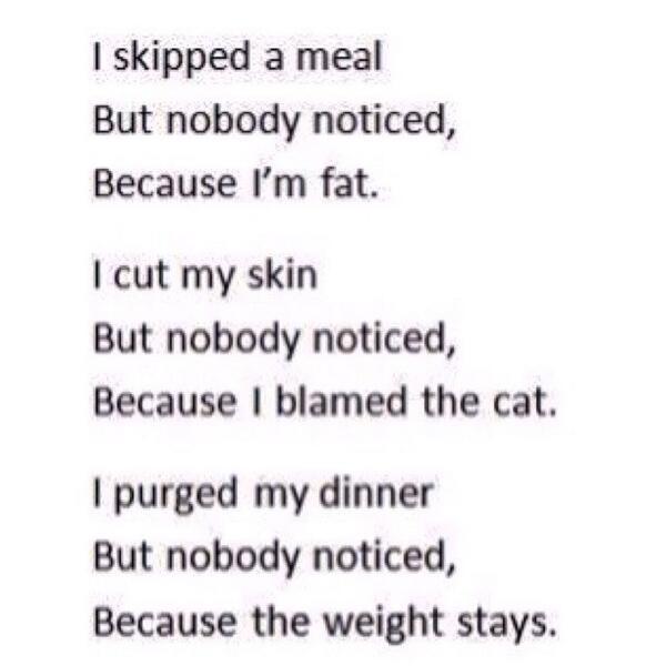 Anorexia essays
