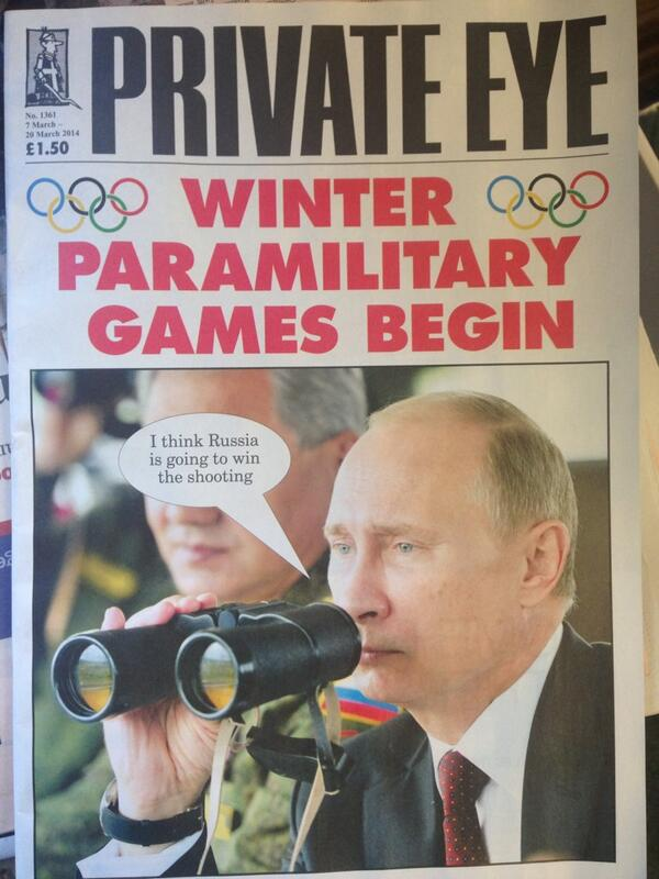 Private Eye hits the bullseye http://t.co/rUtVjhYizD